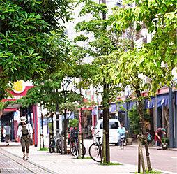 西仲通り商店街 約90m(徒歩2分)