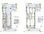 機能性と居住性を高めた敷地デザイン。