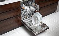 日々の洗い物に活躍するドイツ、ミーレ社製の食器洗浄機。洗浄力、機能性、静粛性に優れています。また、ランニングコストを軽減します。※タイプにより無償セレクトまたは有償オプションとなります。※ミーレ社調べ