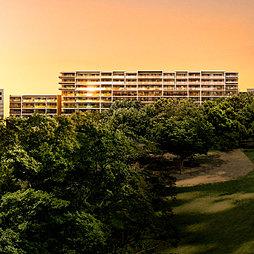 パークホームズ茅ヶ崎中央公園の外観