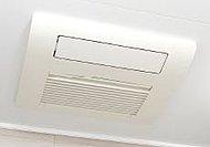 衣類の乾燥や、入浴時の暖房、涼風など多彩な機能を備えた浴室暖房乾燥機を採用。雨の日でも洗濯物を干せたり、カビの予防にも効果的です。