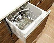 少量の高温のお湯で循環洗浄することにより、効率的で清潔に洗いあがります。