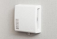 室内の空気を常時流動させ、各居室の給気口から新鮮な空気を取り込みます。