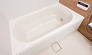 浴槽と風呂ふたを断熱構造にすることにより、保湿性を高め、浴槽のお湯を冷めにくくします。