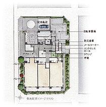 「白山」駅徒歩5分という立地ながらも、白山通りから奥まった閑静な住宅地に四方を道路に囲まれた整形敷地。この地を得て、景観を、快適を、より高めるために、行政との協議を幾重にも重ね、この地への想いを意匠へと。全38邸だけの文京の私邸が誕生。