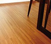 リビング・ダイニング、キッチンの床下で温水を循環させて足元から室内を暖めるため、ハウスダストの舞い上がりがなく清潔で快適です。