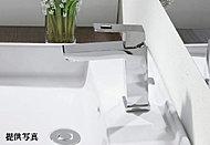 洗面水栓にはグローエ社製のシングルレバー混合水栓を採用。※グローエシングルレバーヘッド引出しとのセレクト可能。※セレクトには期限がございます