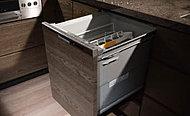 先進の技術と機能をフル装備した深型大容量の食器洗浄乾燥機です。手洗いよりも節水でき、家事の時間も短縮できます。