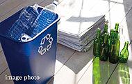 敷地内に24時間利用できるゴミ置場を設置。※粗大ゴミを除きます。※管理組合の指示により、時間が制限される場合があります。