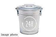 24時間対応のゴミ置場で、ゴミ収集日や時間を気にせず、いつでもゴミを出すことができます。※ご利用の詳細は管理規約集をご確認ください。