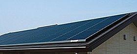 ライフラインが停止したときに備え、太陽光発電・蓄電池を設置。