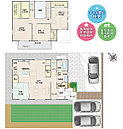 [4号地 内観]平成28年11月撮影※写真内の家具・調度品は価格に含まれません。