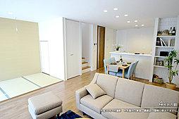 [4号地 内観]平成29年11月撮影 ※写真の家具・調度品は価格に含まれません。