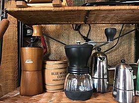 コーヒーのいい香りが店内に広がっています。
