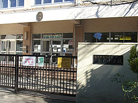 区立青戸小学校が徒歩10分(約730m)