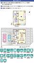 [B号地]間取・外構植栽図は設計図書を基に描き起こしたもので実際とは多少異なる場合があります。 家具・家電・備品・車等は価格に含まれません。