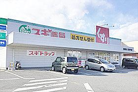 スギ薬局 清城店 約1,050m(徒歩14分)
