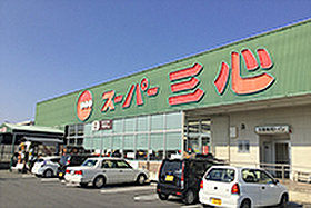 スーパー三心 那加店(約400m:徒歩5分)