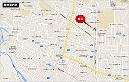 ライフイズム 飯能・新町 【 建築条件付売地:1区画 】:案内図