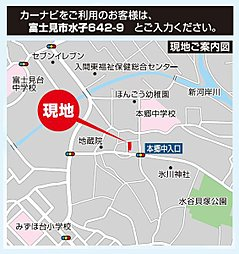 ライフイズム 富士見・水子 【 建築条件付売地:残り1区画 】:案内図