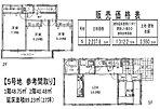 【4区画参考間取】 土地面積121.88m2 建物面積89.23m2