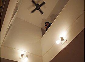 宿泊体感サービス 吹抜けの家を実体感
