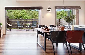 はじめよう うちカフェ!ブルックリンカフェをコンセプトに開放的でおしゃれなリビングダイニングが登場!!(モデルハウス30号地)
