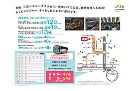 ルナ三田ウッディタウンあかしあ台わんぱくスクエア:交通図