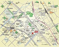 ルナ稲毛海岸クルムスクエア 第3期:案内図