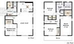 【多彩な間取りプラン】 全邸異なる間取りプランと充実した収納を用意。ライフスタイルに合うお住まいが見つかります。