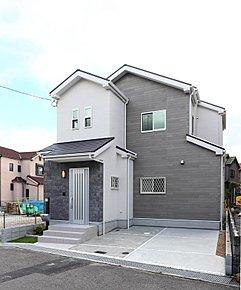 NEWモデルハウス『カフェスタイルダイニングの家』VI-A号地外観写真