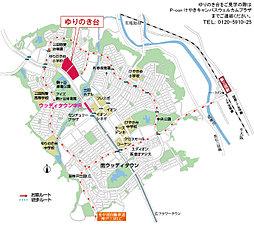 P-CON 三田 ゆりのき台4丁目:案内図