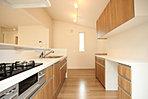 キッチンの北側はマイコーナー(家事・スタディ・カフェ・パントリーetc)として様々な使い方が可能。壁面には一部下地を備えておりDIYでカウンターを設置することも可能です。