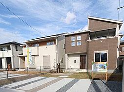 10/18更新 【オーダーの様な住まい】家具をセットしたモデル住宅もあります 東台第15期の外観