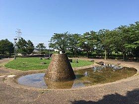分譲地内のもえぎ野公園。近くにあり、安心して遊ばせられます。