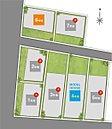 大正区三軒家東に全7区画の街が誕生しました!4号地にて和光の新コンセプトモデルハウス「健やかな家」見学会開催中です♪/区画図