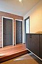 【当社施工例】 温かみのある優しい空間であるLDK。開放感あふれる居心地の良いリビングに。