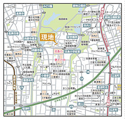 eMIRAIE 御堂筋/服部緑地:案内図