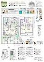 【3号棟】2(3)LDK+スキップDEN(DEN下部土間収納)+パントリー+ウォークインクロゼット+吹抜け+インナーバルコニー+スタディカウンター スキップDENと吹抜けのある家。