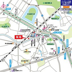 プレミアムコンフォート上野芝:案内図
