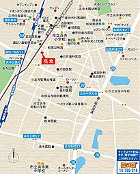 プレミアムコンフォート浜寺諏訪森町東II:案内図