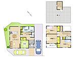 建物面積 116.74m2(35.31坪) 家族が集える明るいLDK。適量適所に設けた収納など住みやすさを考えた間取りです