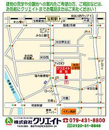 7高砂西(建築条件付宅地):案内図
