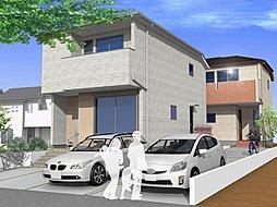 建物の完成イメージを3D映像でご覧いただけます!お気軽にお問合せください。(連棟外観イメージ※A棟ご成約済)