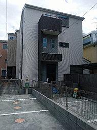 新築分譲住宅マニフィーク武蔵小杉XI B号棟の外観