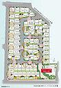 開発面積9,900m2超の大規模戸建街区誕生。安心の開発道路のほか提供公園も敷地内にあり、子育てに嬉しい住環境。