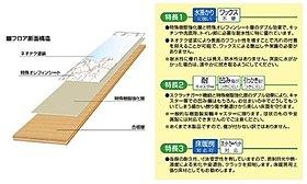 洗面脱衣室床材/ダイケン(仕様書)