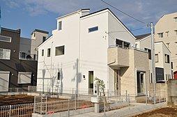 スカイバルコニーのあるデザイン住宅 プロステージ習志野台4丁目III 40坪の外観