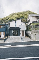 【創建ホーム】三原市糸崎で、制振システム搭載のデザインハウスが分譲開始の外観