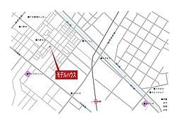 【豊栄建設の分譲地】プラチナアベニュー八軒(土地):案内図